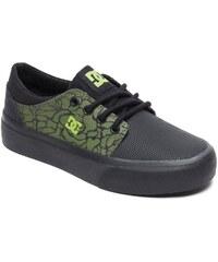 dc Dětské boty trase se black black soft lime - bk9 35.5 1e84b7e288