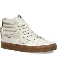 a531fe089fd vans Pánské kotníkové boty sk8-hi reissue zip (hiking) white gum 42