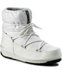 moon boot Dámské zimní boty w.e. low nylon white silver 38 87d4c112f9