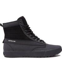 supra Pánské kotníkové boty graham cw black black 45 520ae3a701