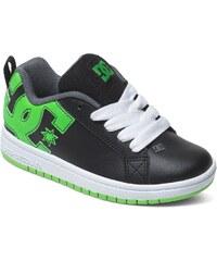 DC Shoes Dětské boty DC Court Graffik Se black black soft lime ... 8c13cba396