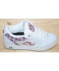 adio Dámské boty hamilton white charcoal pink 37 d2a80787da