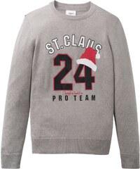 bonprix Pletený svetr s vánočním motivem c8af2f9e10