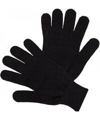 Černé pletené silné pánské rukavice Assante 89702 561e7dcead