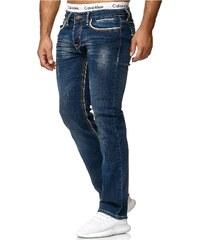 S-Fashion Pánské džíny model RJ-5171 c817f2357c1