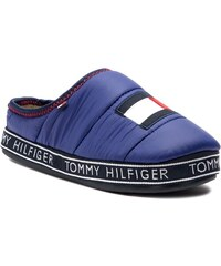 fb2efbea0a Papuče TOMMY HILFIGER - Flag Patch Downslipper FM0FM02004 Solidateblue 435