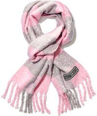 72850000d6c Victoria´s Secret lehká zimní šála Angel heart light pink grey