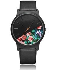 Shim Watch Dámské hodinky Dark Floral Černý 290680f68e