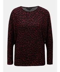 Vínový tenký sveter s netoperími rukávmi Dorothy Perkins f6cb3cf44e3