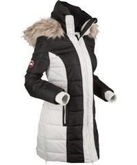 bpc bonprix collection Bonprix - Manteau outdoor noir manches longues pour  femme 146924dd6e8