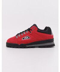 85841bf083c Fila Trailblazer Suede Pompeian Red