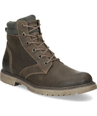 22703064c1 Weinbrenner Hnedá kožená pánska zimná obuv