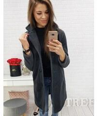 Brand Dámsky kabát LUCCA (ny0193) - sivý ny0193 e605be3d9a9