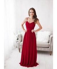dcb6a84f0e48 EVA   LOLA Společenské plesové Šaty GABRIELLE červené