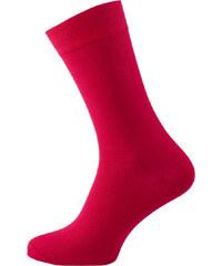 Zapana Pánské jednobarevné ponožky Nose červené b6b387b787