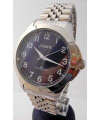Čitelné ocelové pánské přehledné voděodolné hodinky Foibos 6983.3 - 5ATM 43a52dd5232