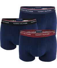 Tommy Hilfiger 3Pack - Premium Essentials modré boxerky s farebným pásom -  limitovaná edícia adae14974c