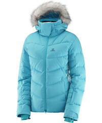 Dámská péřová bunda SALOMON ICETOWN JKT W L39775700 BLUEBIRD HEATHER 0bb64883eb