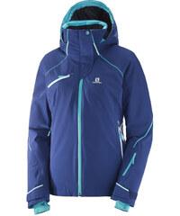 Dámská lyžařská bunda SALOMON SPEED JKT W L39740100 MEDIEVAL BLUE 5488eb4e64