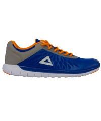 31ab701518f Pánská běžecká obuv PEAK RUNNING SHOES E61287H MODRÁ ŠEDÁ