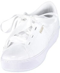 Dámské boty PUMA VIKKY PLATFORM RIBBON P 36641902 PUMA WHITE PUMA WHITE 37a724af6c