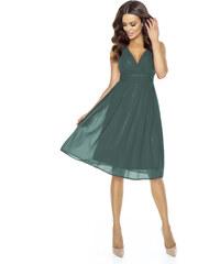 KARTES Dámské šaty Večernice DeLuxe zelené b64d605b17