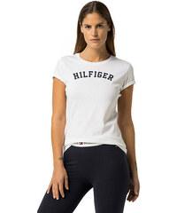 Tommy Hilfiger Dámske tričko s krátkym rukávom Cotton Icon ic Logo SS Tee  Print UW0UW00091 - 8f0c349e3e2