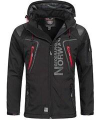 775fbaf1bd8a9 Luxusní značková pánská softshellová bunda GEOGRAPHICAL NORWAY s  odepínatelnou kapucí.