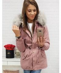Brand Dámska zimná parka LOVELLY (ty0411) - rúžová ty0411 b933f7a3e15