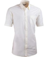 e49488a8c056 Šampaň pánska košeľa slim fit s krátkym rukávom Aramgad 40235