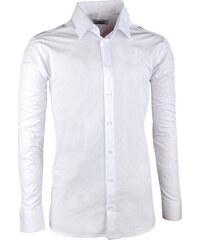 060fa9490ec2 Pánska svadobná košeľa biela vypasovaná Aramgad 30045