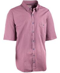 03b6ddfc0dba Nadmerná košeľa 100% bavlna červenošedá Tonelli 110829