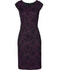 703eacb6ae2e Bonprix Púzdrové šaty s čipkovanou potlačou