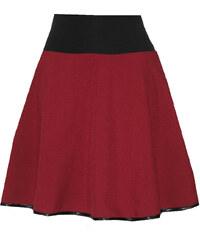 Radka Kudrnová Vínová půlkolová sukně se spodničkou ec3ded2c54