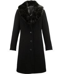 6d12ffc90779 Vlnený kabát Laura Kent Čierna