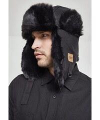 f06e08962 Zimná čiapka s kožušinou Urban Classics New Trapper Hat čierna