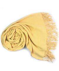 b787b55daa9 Carlo Romani s. r. o. Dámská žlutá pašmína   Dámská žlutá šála