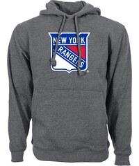 7f92f51b5d9 New York Rangers pánská mikina s kapucí grey Core Logo Hood Levelwear 67067