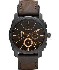Pánské stylové hodinky Fossil s hnědým koženým páskem e89eeb5d02