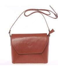 Dámska kožená crossbody kabelka čierna - ItalY Marleta hnedá a798a567525