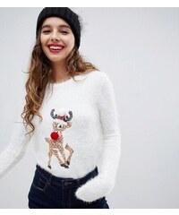Bravesoul Dámský vánoční svetr Brave Soul Xmas Pom Pom 08474351bc