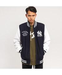 New Era Post Grad Pack Varsity Jacket NY navy   biela c07082196b