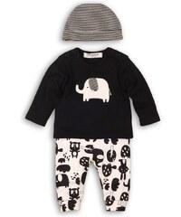 Minoti Chlapčenský dojčenský komplet Animal - čierny e591a9a748