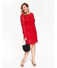 16fdc3a3c626 Top Secret Šaty dámské červené z krajkového materiálu