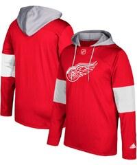 Detroit Red Wings férfi kapucnis pulóver Adidas Jersey Pullover Hoodie 919008b88b