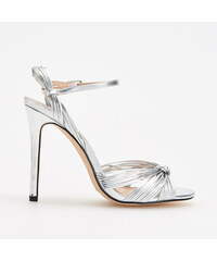 adf2048a943b Reserved - Sandále na vysokom podpätku - Strieborná