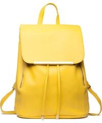 7cfe1b12bac Dámský žlutý batoh Beate 1669
