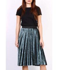 261b0ed47aa2 Rouzit Zelená plisovaná stredne dlhá sukňa