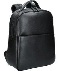 Pánský kožený batoh Hexagona Encore - černá 31ad00d541