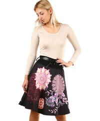 4f19469b65bd TopMode Zimní dámská sukně s potiskem